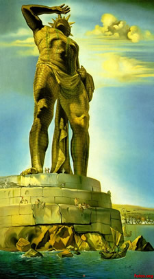 Colossus of Rhodes Shoulders of Giants
