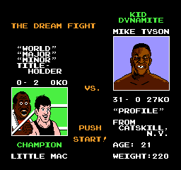 mike tysons punch out 1 Thoughts on Expertise (part 1): Beating Mike Tyson