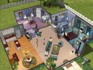 sims house 300x224 What I learned from The Sims: lessons from the virtual world